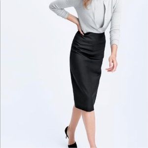 J Crew Super 120's Wool Pencil Skirt Size 6